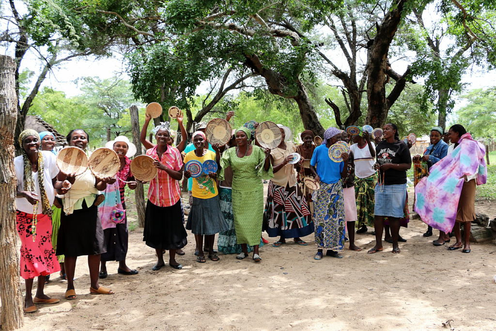 Ngamo village crafters