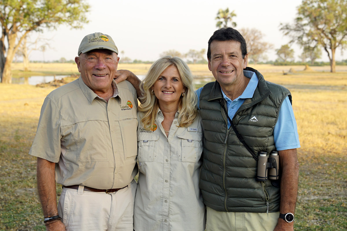 Tasimba - What's Our Story - Photo of Hugh Coppen, Heather Weaver and Garth Thompson